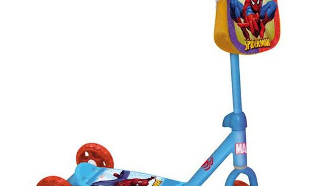 Ma première patinette Spiderman