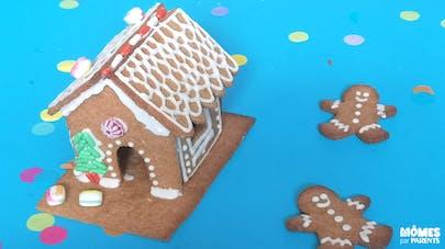 La maison en pain d'épices de Hansel et Gretel
