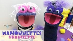 Marionnettes chaussette