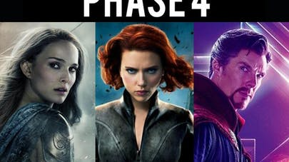 Marvel MCU phase 4 films et séries ComicCon San Diego       2019