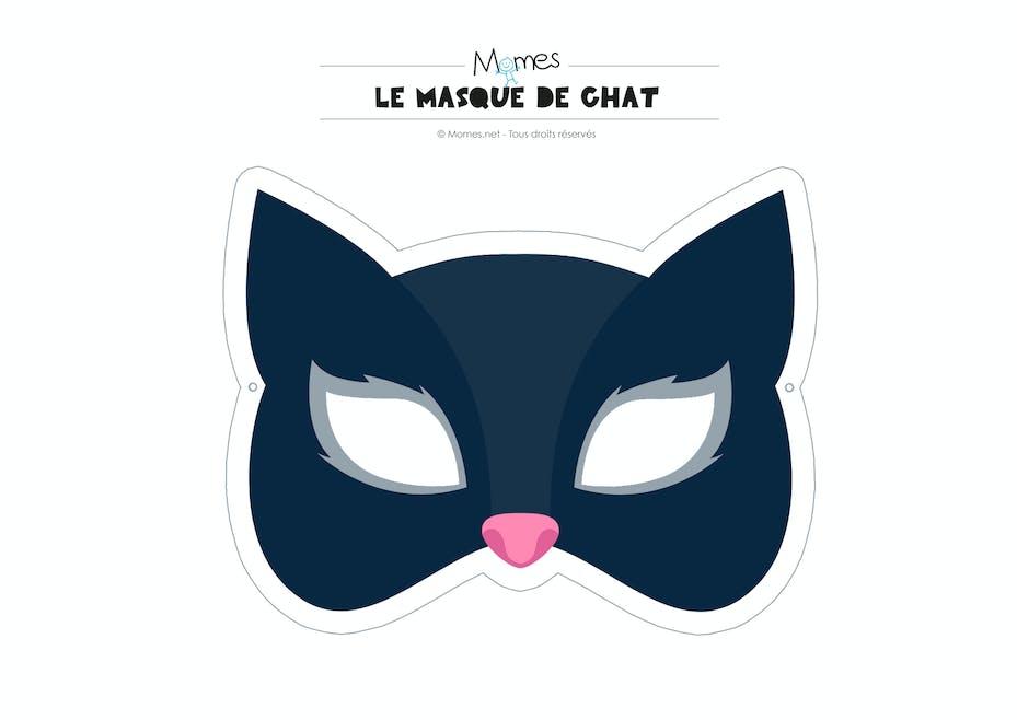 Masque De Chat Momes Net