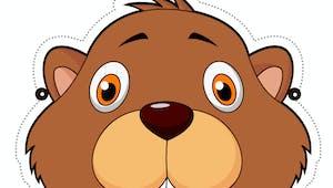 Masque de marmotte