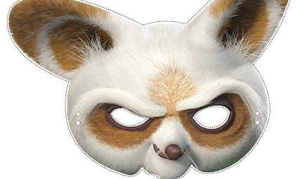 Masque de Po Kung-Fu Panda