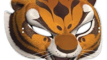 Masque de Tigresse Kung-Fu Panda