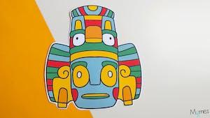 Masque Inca / Azteque