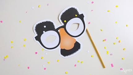 Masque nez, lunette et moustache !