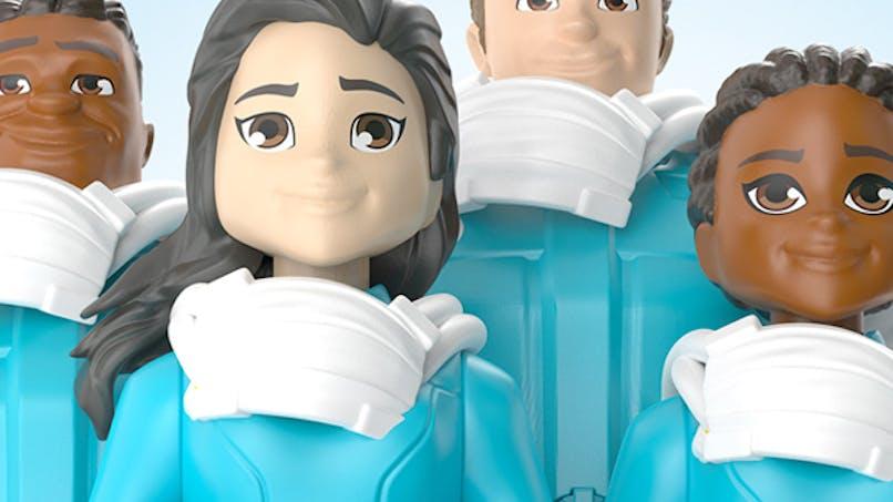 figurines mattel héros coronavirus jouets