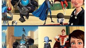Megamind : jeu des différences
