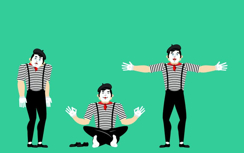 jeu des mimes