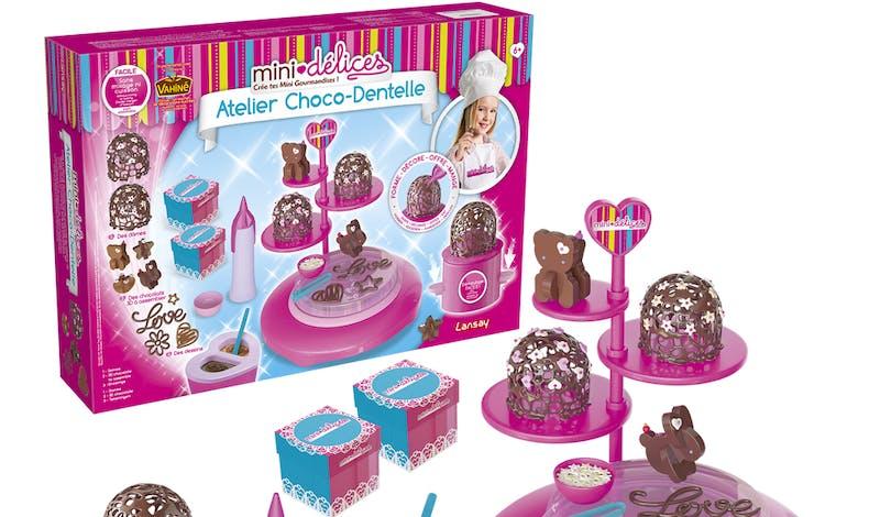 meilleurs cadeaux Noël 2019 enfants DIY mini-délices         choco-dentelle