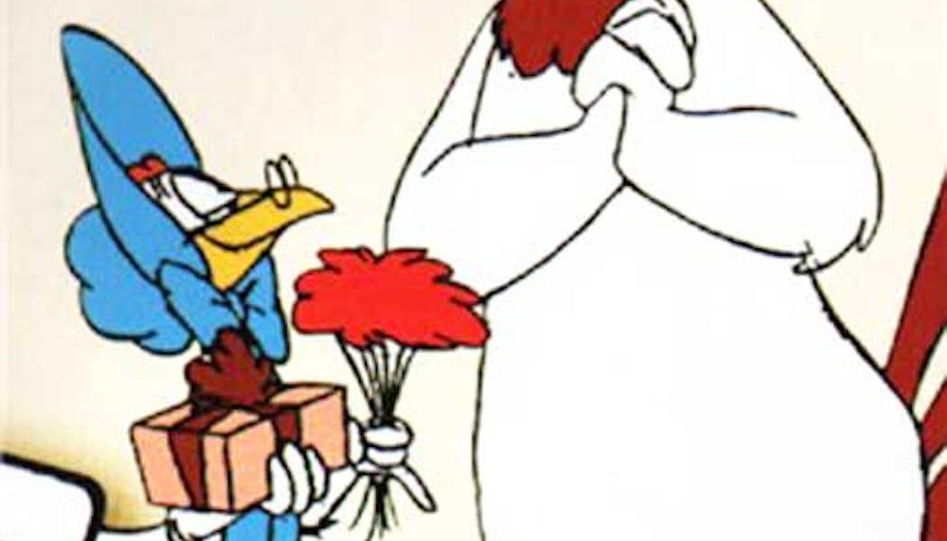 Miss Prissy et Charlie le coq (Les Looney       Tunes)