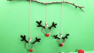 Mobile rennes de Noël