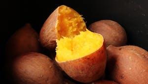 Moelleux de patate douce cœur fondant de Boursin