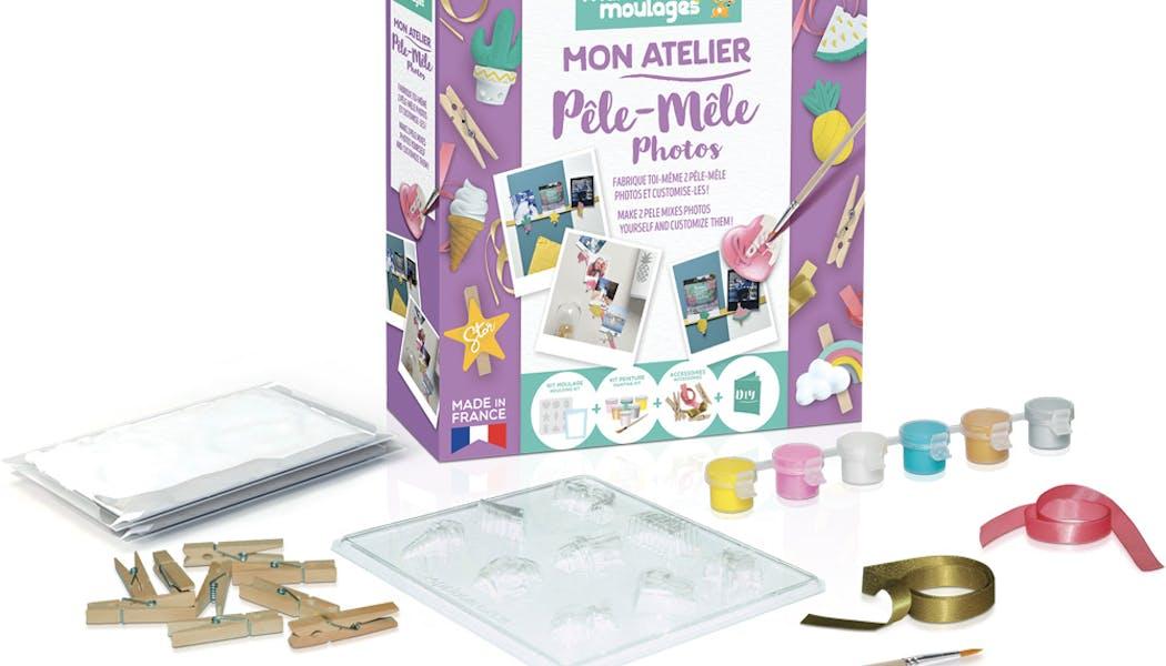 meilleurs cadeaux Noël 2019 enfants Mon atelier         Pêle-Mêle photos