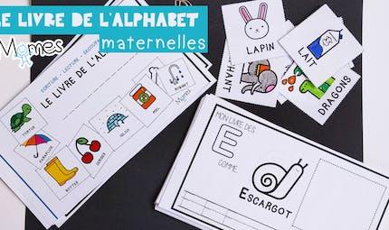 Mon livre d'alphabet - Ecriture Maternelle