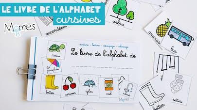 alphabet cursives