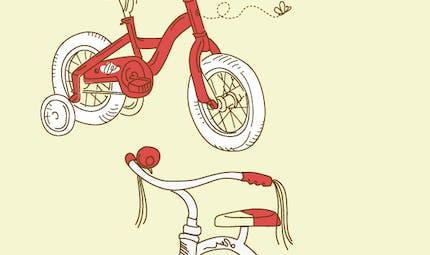 Mon vélo est blanc