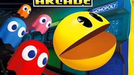 Monopoly et Pac-Man : une édition spéciale pour les 40 ans de Pac-Man avec une mini-borne d'arcade