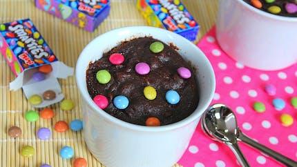 Mousse au chocolat aux smarties
