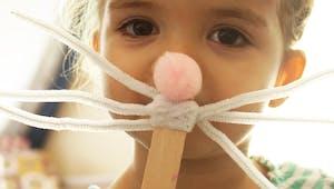 Moustaches de lapin à fabriquer