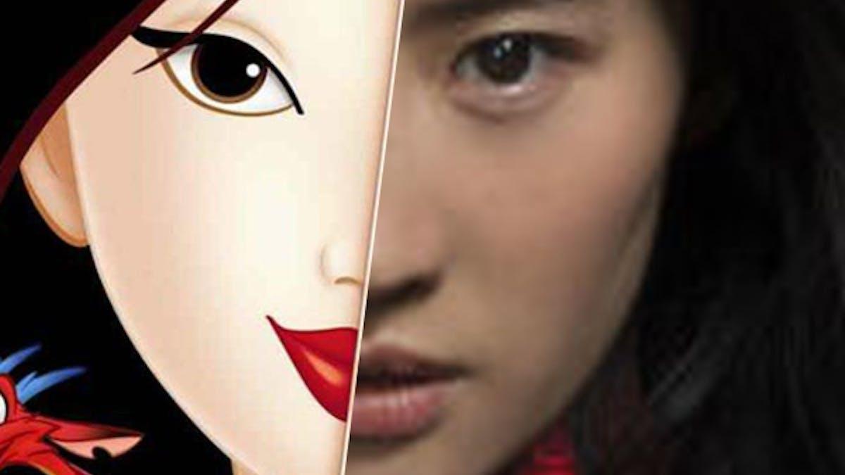 Mulan le film Disney première image de l'héroïne       princesse