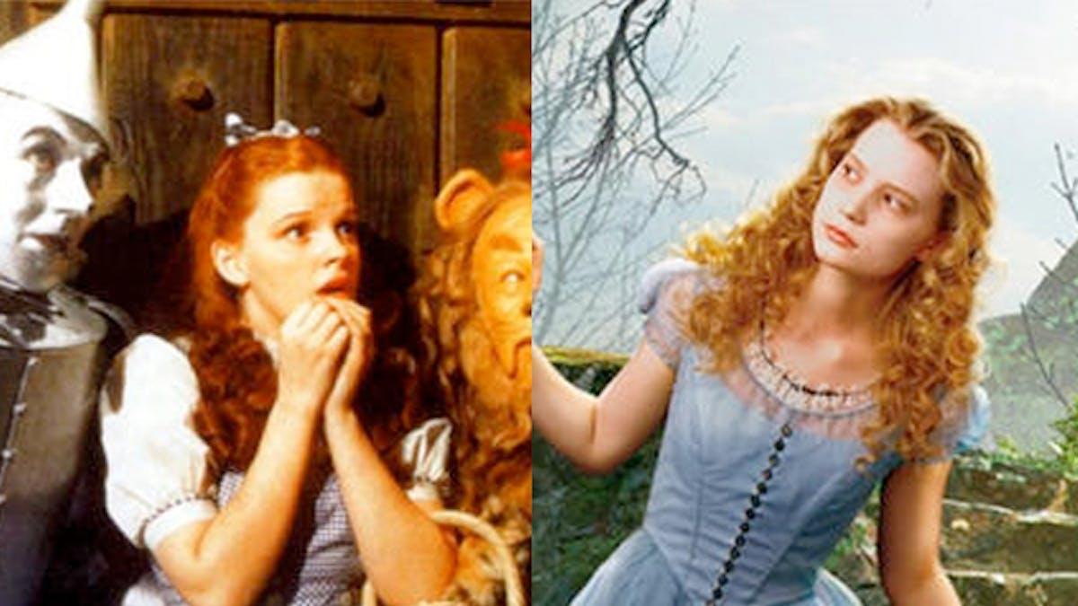 Dorothy and Alice Netflix crossover film le magicien       d'oz alice au pays des merveilles