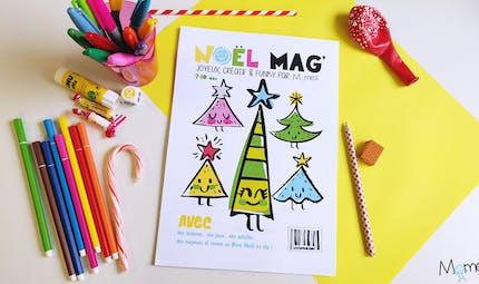 Noel Mag' ! Des jeux de Noël à imprimer !