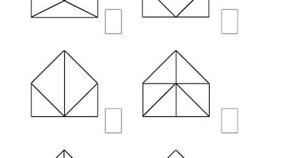 Nombre de triangles: exercice