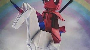 Nos héros préférés en origami