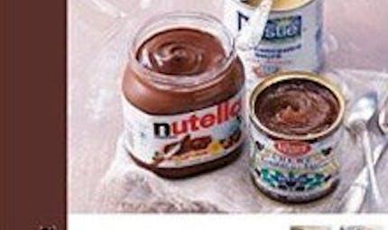 Nutella, lait concentré, crème de marrons...