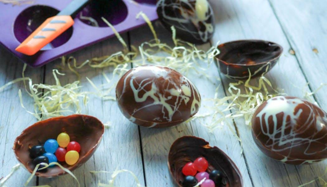 Œufs en chocolat maison