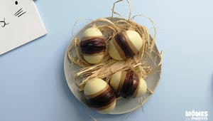 Oeufs multi chocolats