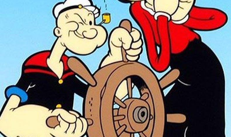 Olive et Popeye (Popeye)