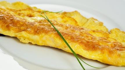 Omelette au beurre