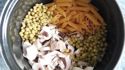 one pot pasta champignons