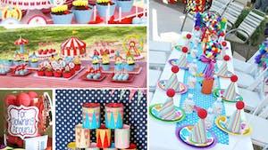 Organiser un anniversaire Cirque