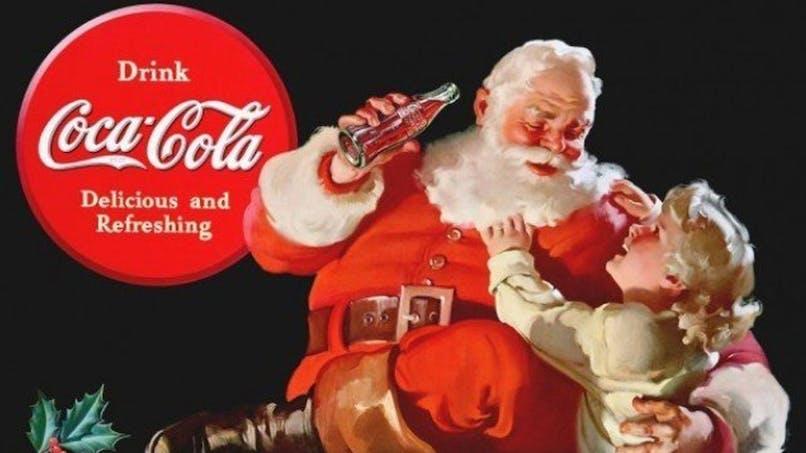 origine du pere noel saint-nicolas thomas nast coca       cola