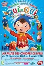 Affiche Oui-Oui et ses amis au Casino de Paris