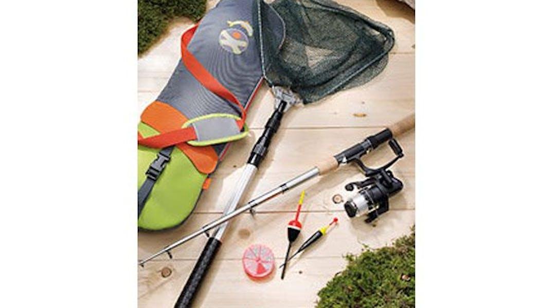 Panoplie de pêche