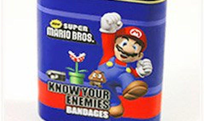 Pansements Mario Bros