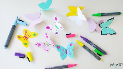 Papillon à imprimer