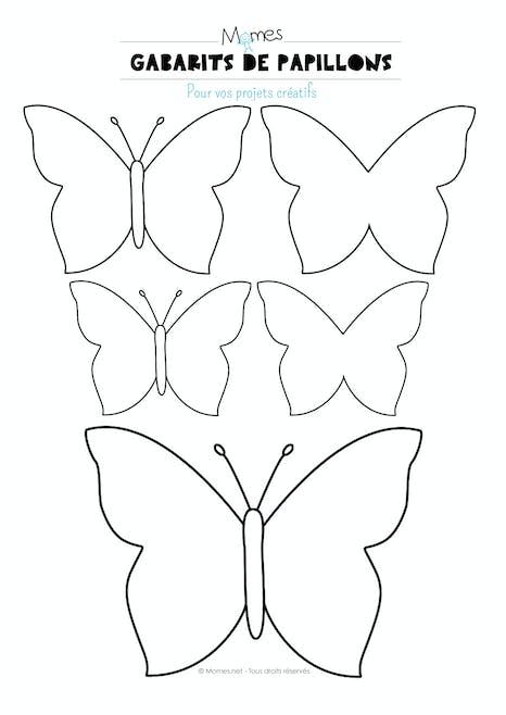 Papillon A Imprimer Momes Net