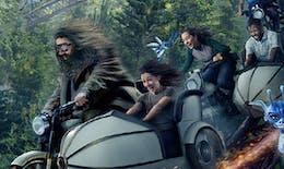 Parc Harry Potter : les premières images de la nouvelle attraction Hagrid et les Animaux Fantastiques