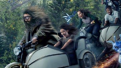 attraction Hagrid moto rollercoaster parc Harry Potter       Orlando