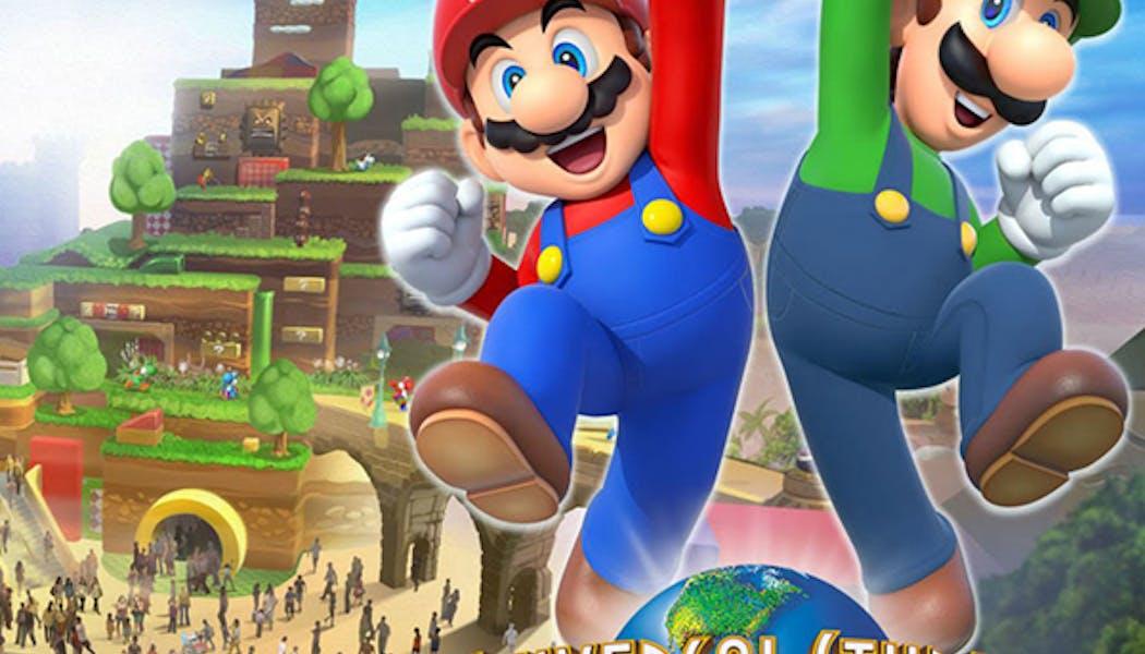 Parc Super Nintendo World : une vidéo dévoile plus de détails !