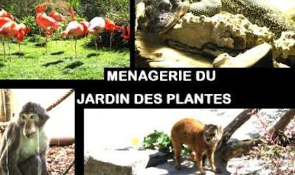 Parcs zoologique : Ménagerie du Jardin des Plantes