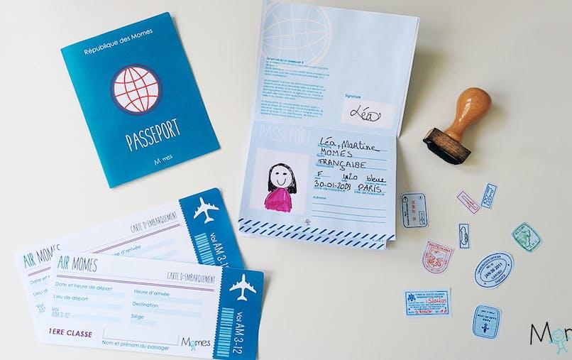 modele passeport