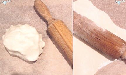 Pâte à sucre facile (au miel)
