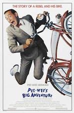 Affiche Pee Wee's Big Adventure