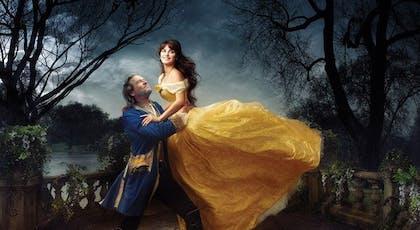 Pénélope Cruz et Jeff Bridges (La Belle et la       Bête)